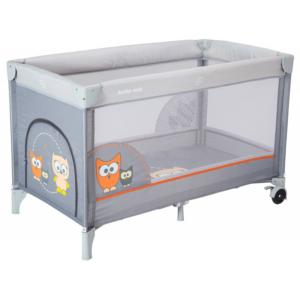 baby-mix-łóżeczko-turystyczne-jednopoziomowe-grey-sowa-HR-8052-172