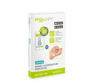 AGU BABY Inteligentny wskaźnik temperatury dla dzieci z aplikacją AGU STI 2
